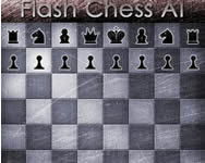 Flash chess AI játék